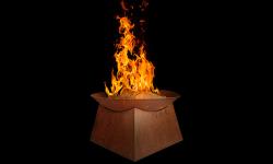 Fire bowl Pueblo