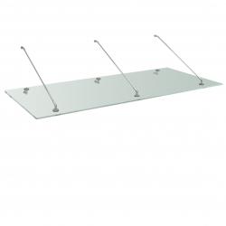 Glass Roof, 200 x 90 cm
