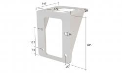 Deckenhalter neu für Vollkasettenmarkise