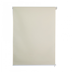 Sichtschutzrollo 1.2 x 2.3 m beige Außenrolllo