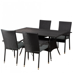 Garden furniture Lanzarote black