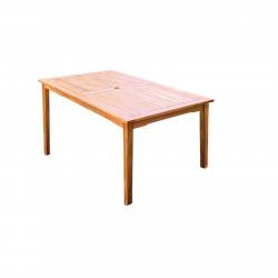 Dining table acacia wood Santa Cruz