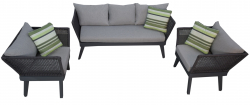 Furniture Cuba in anthracite