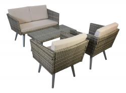 Gartenmöbel Cassis in grau meliert Neu Garten Design Lounge