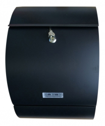 Letter-Box Mailbox in black matt