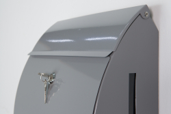 Letterbox 'Jet-Box', anthracite - with viewing window