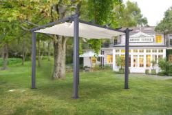 Pergola Pavillon Überdachtung