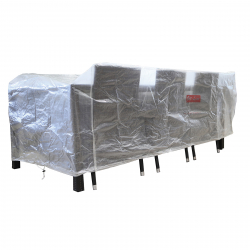 Garden furniture cover size:1.85x1.4x0,7 m