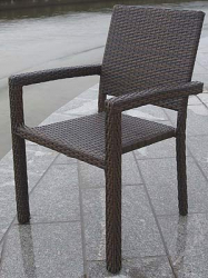 Stacking Chair Maastrich brown
