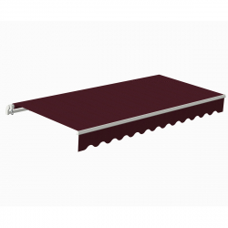 Awning Sunpower 5 x 3 m bordeaux